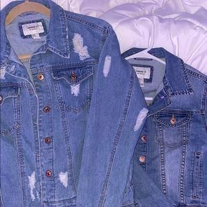 Jean jackets !
